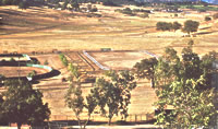 Aerial view of CowHorse Ranch
